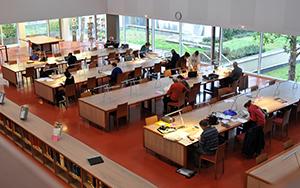 Salle de lecture, ADLA